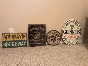 Assorted man cave signs for Sale in Seattle, WA