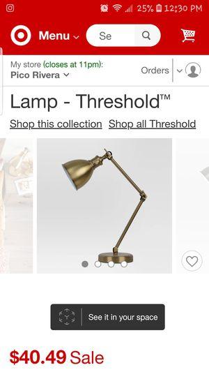 Desk lamp for Sale in Whittier, CA