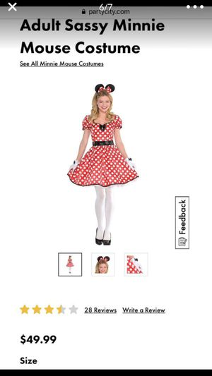 Women's Minnie Mouse Halloween costume for Sale in Phoenix, AZ