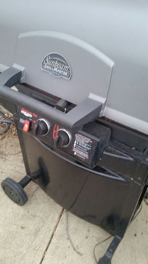 Sunbeam BBQ grill with one burner only $99 just reduced in price for Sale in Farmington Hills, MI