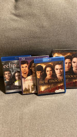 The twilight saga blu ray bluray dvd for Sale in Arlington, TX