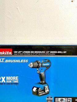 Makita Drill Brushless With 3.0 Ah Battery And Charger for Sale in Houston,  TX