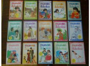 EUC HTF OOP Complete Rumiko Takahashi Maison Ikkoku Manga 1 - 15 Lot for Sale in Sterling Heights, MI