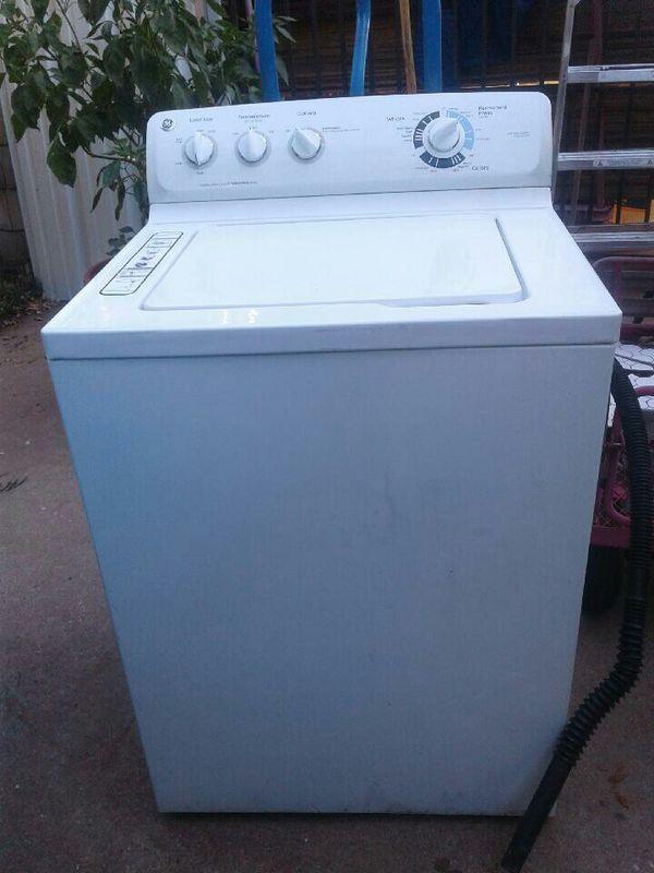 GE super load washer
