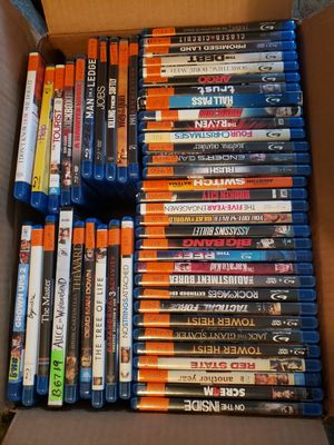 Blue ray movies for Sale in Riverside, CA