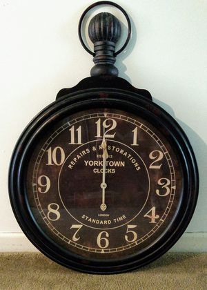 Pottery Barn Wall Clock for Sale in Raleigh, NC
