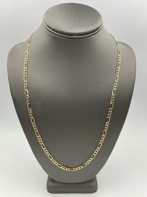 14KT YELLOW GOLD FIGARO LINK CHAIN for Sale in Fontana, CA