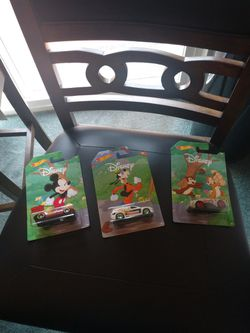 Valentine's Gift. Vintage Disney Hot Wheels Complete Set Of 8. All For $18 for Sale in Redmond,  WA