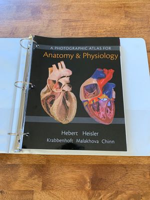 A Photographic Atlas For Anatomy & Physiology for Sale in Whittier, CA