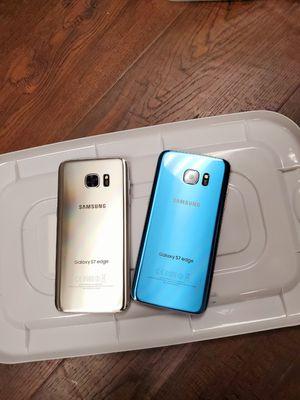 Samsung galaxy s7 edge 32gb unlocked each phone $220 for Sale in Medford, MA