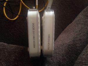 Modem and router Netgear for Sale in Manassas, VA