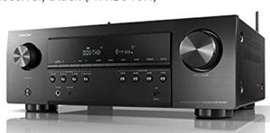 NEW IN BOX Denon AV Receivers Audio & Video Component Receiver Black (AVRS640H) ( for Sale in Humble, TX