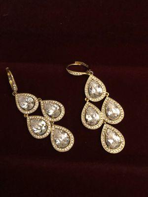 Diamond Nadri-chandelier earrings from Norstrom's for Sale in Aurora, CO