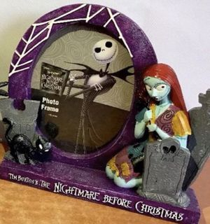 The nightmare before Christmas frame new beautiful $15 for Sale in Mulberry, FL