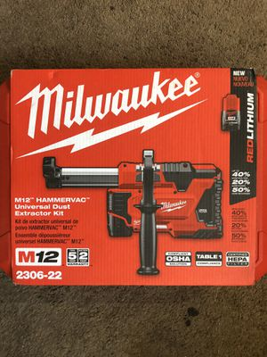 Milwaukee New Kit( Hammer Vac M12 ) Nuevo for Sale in Los Angeles, CA