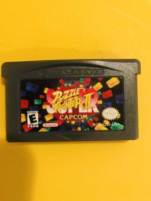 Gameboy Advance Super Puzzle Fighter 2 for Sale in El Monte, CA