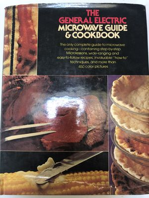 Antique General Electric microwave cookbook for Sale in Cambridge, MD