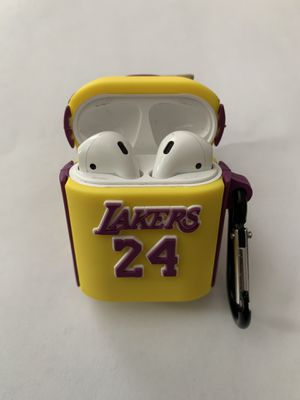 NEW Lakers 24 Yellow Apple AirPod Case for Generations 1&2 for Sale in Capitol Heights, MD