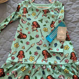 Disney Moana 3t Nightgown for Sale in Rancho Cucamonga, CA