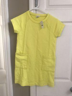 Crewcuts Yellow Sweatshirt Dress Size 10 for Sale in Buford, GA