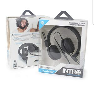 JLab Intro On-Ear Wired Stereo Folding Travel Headphones for Sale in Bellevue, WA
