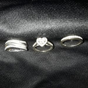 White Gold Wedding & Anniversary Rings With Receipt for Sale in Long Beach, CA