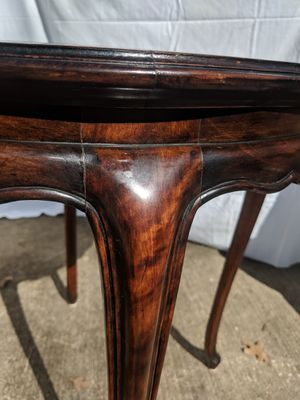 Beautiful antique wood Italian marble topped table for Sale in Austin, TX