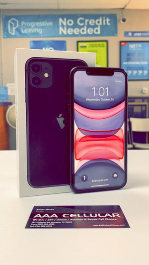 iPhone 11 - 128gb / 64GB Factory Unlocked / ATT T-Mobile Verizon Sprint Starting @ for Sale in Arlington, TX