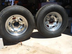 Toyota 15 inch tires and rims for Sale in Santa Fe, NM