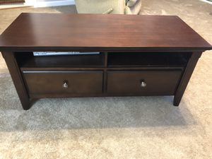 """Wood TV Media Storage Stand for TV's up to 64"""" for Sale in Kennesaw, GA"""