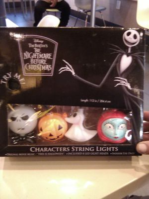 Nightmare before Christmas lights for Sale in Fresno, CA