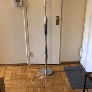 Heavy Silver Floor Lamp for Sale in New York, NY