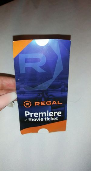 Regal movie tickets for Sale in Santa Ana, CA