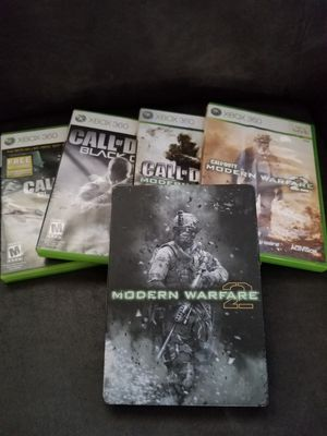 5 Call of Duty games xbox one 360 for Sale in Lockhart, FL
