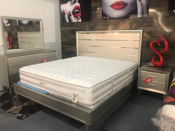 Bedroom Set 4 PC For Sale In Hialeah FL OfferUp