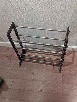 Adjustable Size Shoe Rack for Sale in Richardson,  TX