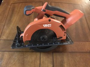 Hilti SCW A-22 cordless circular saw (tool only) for Sale in San Antonio, TX