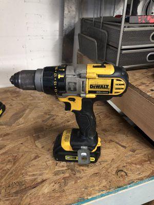 DeWalt 20v Max 1/2 hammer drill with 3.0 ah battery and charger. for Sale in Tampa, FL