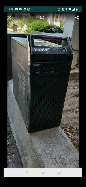 Computer tower and monitor for Sale in West Covina, CA