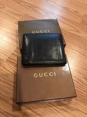 Gucci Black Wallet for Man for Sale in Arlington, VA
