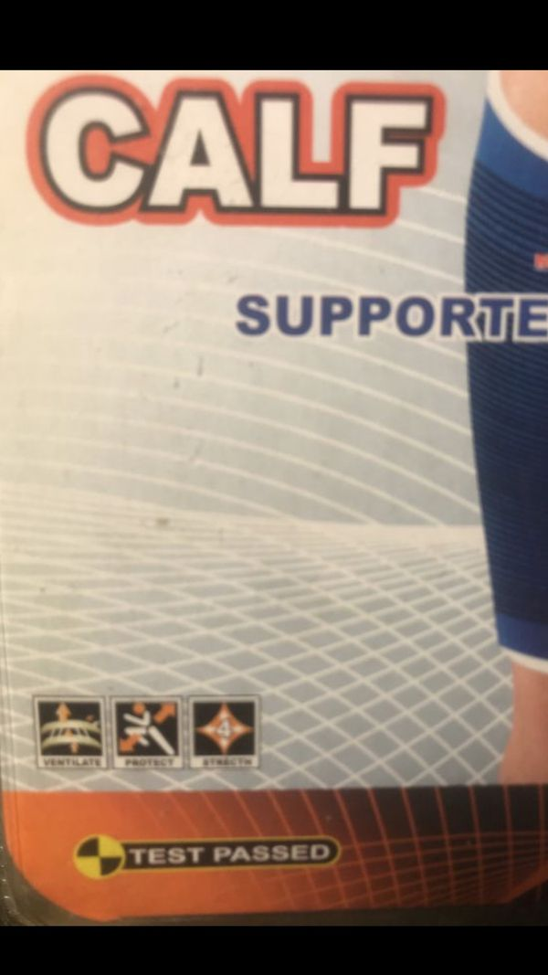My Products Sporting Goods Compression Wear Calf Support One Size Fits All brand New