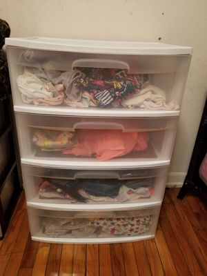 Plastic drawers for Sale in NEW CARROLLTN, MD