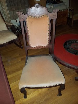 Antique side chair for Sale in Manassas, VA