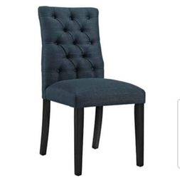 BRAND NEW  Modway Duchess Modern Elegant Button-Tufted Upholstered Fabric Parsons Dining Side Chair in Azure EEI-2231-AZU for Sale in Marietta, GA