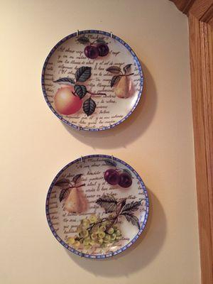 Pretty decorative plates for Sale in Gainesville, VA