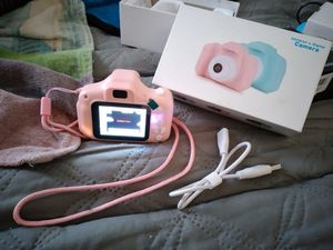 Pink children's kid camera for Sale in Columbus, OH