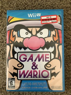 Factory Sealed Game & Wario for Nintendo Wii U for Sale in Fort Lauderdale, FL