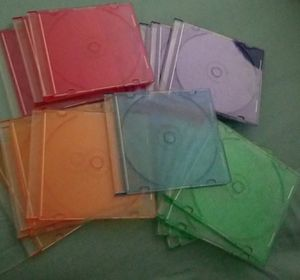 Colorful Large Pack of CD Covers for Sale in Hercules, CA