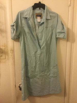 Patagonia chambray dress woman's size 10 for Sale in Yuba City, CA