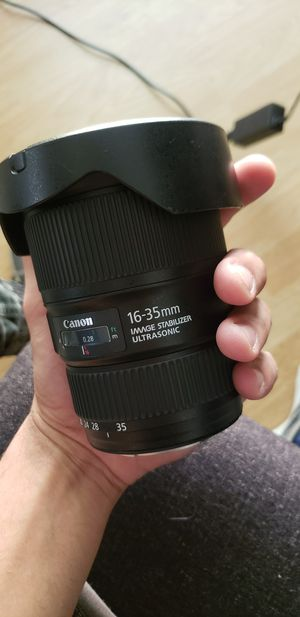 Canon EF 16-35mm F4 for Sale in Grand Prairie, TX